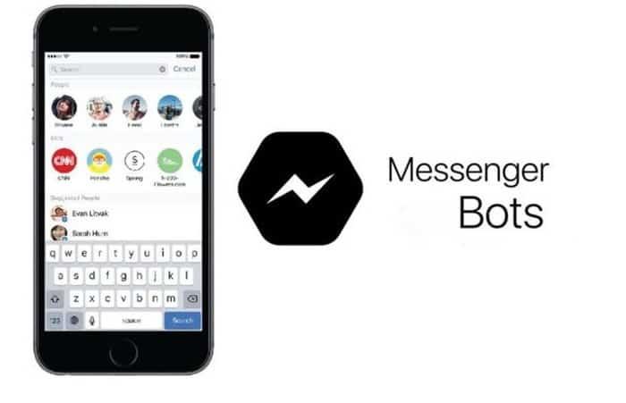 messenger bots en un telefono